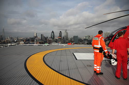 London's Air Ambulance Turns To City For Funding