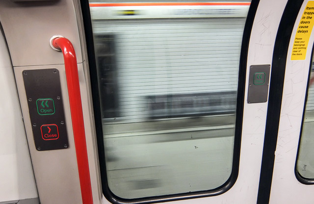& Why Are There Buttons On Tube Train Doors? | Londonist