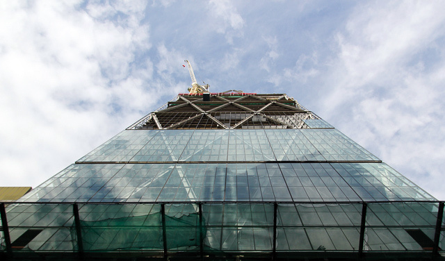 The Cheesegrater, from the ground up