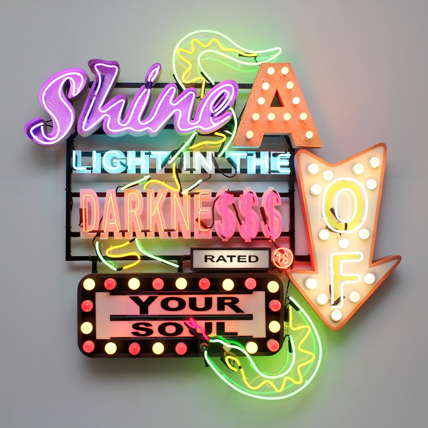 Chris Bracey, Shine A Light In The Darkness Of Your Soul. Image courtesy Scream London.