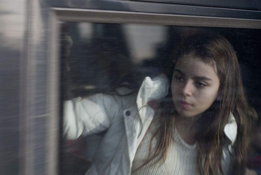 We love this photo series of London commuters, taken through train windows
