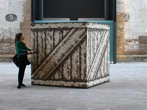 Conall McAteer Crate 2012. Courtesy Catlin Art Prize.
