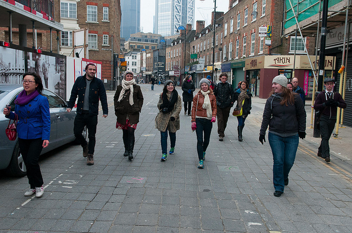 Marching to Aldgate East by McTumshie