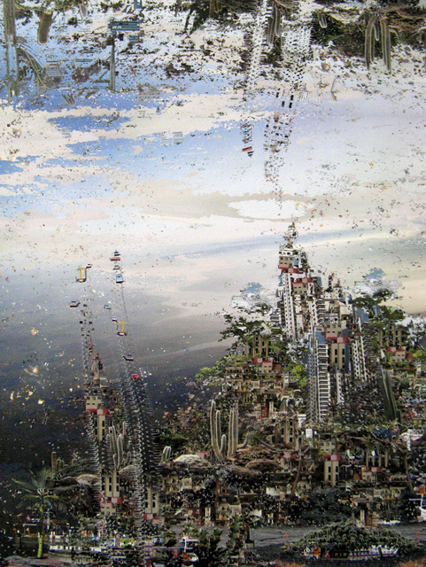 Landscapes Collide And Disintegrate: Jane Ward @ Bearspace