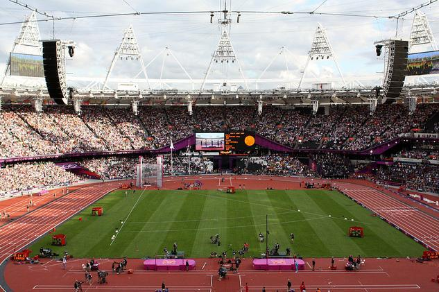 Your Chance To Run In The Olympic Stadium