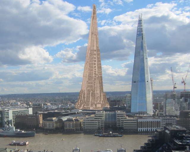 Plans to build the shard in chicago over 100 years ago londonist