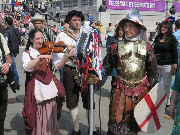 Things To Do In London For St George's Day 2013