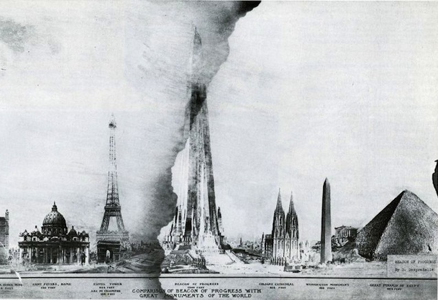 Plans To Build The Shard In Chicago...Over 100 Years Ago