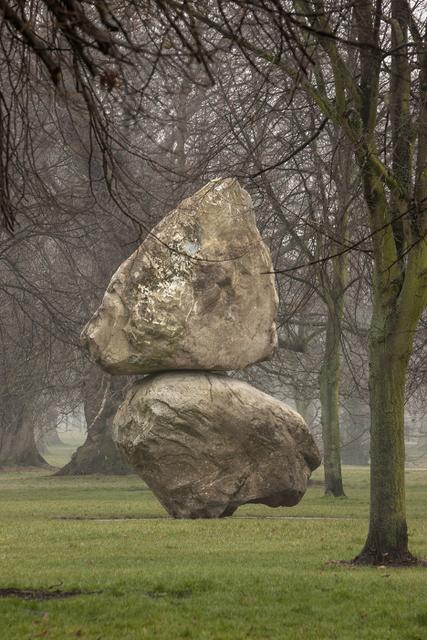 Fischli/Weiss Installation view, Rock on Top of Another Rock 2013 Serpentine Gallery, London. © Peter Fischli David Weiss Photograph: 2013 Morley von Sternberg