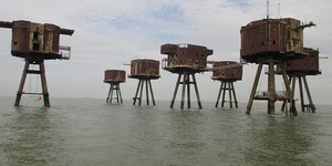 Red Sands: The Abandoned Estuary Sea Forts From The Second World War