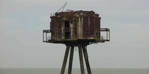 Red Sands: The Abandoned Estuary Sea Forts From WWII
