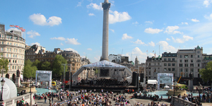 In Pictures: LSO At Trafalgar Square