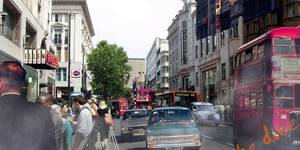 Time Travel London: Oxford Street Old And New