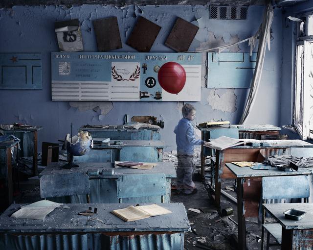 Untitled 4, series Red Balloon 86, 2009 © Hana Vojáčková