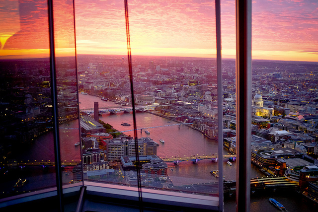 First restaurant in the shard to open londonist for Restaurants at the shard