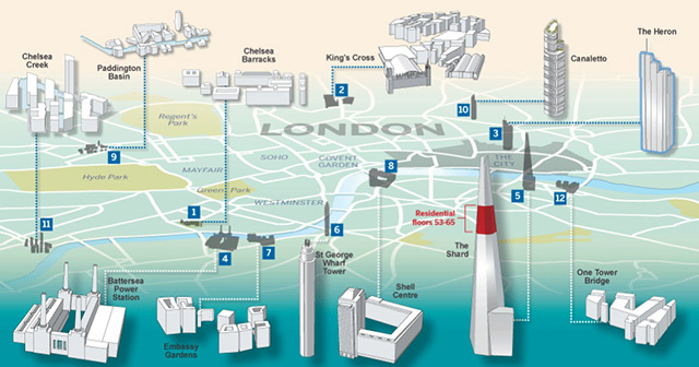 Interactive: London's New Residential Developments