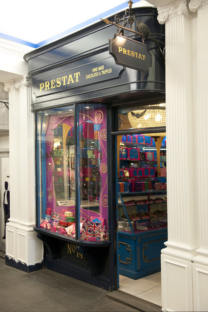 Prestat Chocolates in Princes' Arcade