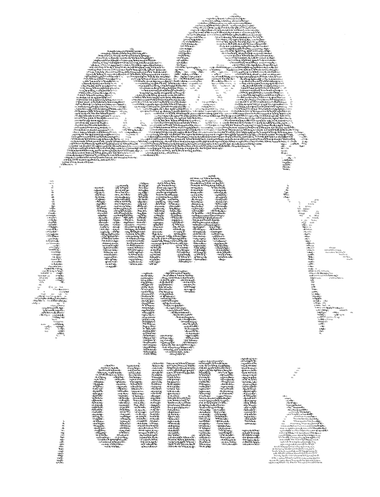Annemarie Wright, John & Yoko - If you want it. Image courtesy of the artist