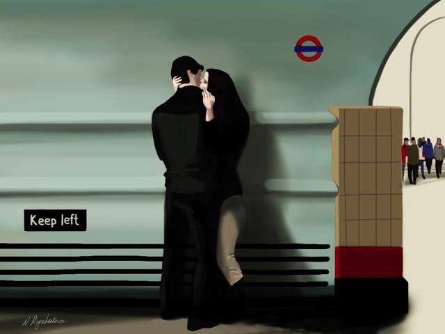 Love on the Underground.