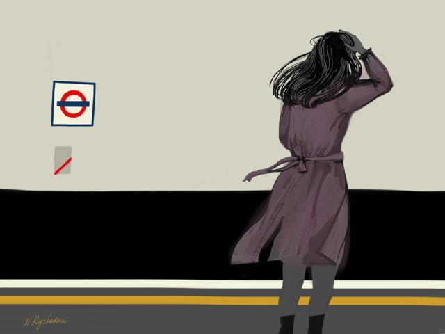 Wind on the tube.