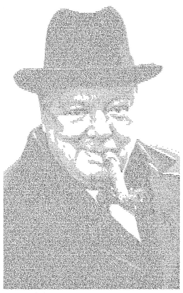 Annemarie Wright, Winston Churchill - The British Bulldog. Image courtesy of the artist