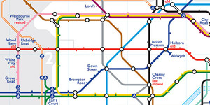 Alternative Tube Maps: Ghost Stations On The London Underground