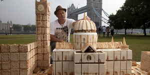 Pictures: London Made Out Of Food