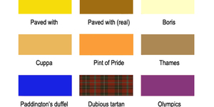 A Colour Chart For London