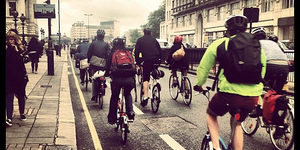 TfL Figures Show Bikes Are 25% Of London Rush Hour Traffic