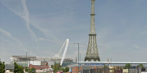 Time Travel London: Watkin's Folly Towers Over Wembley