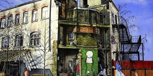 Marc Gooderham's Paintings Of London's East End