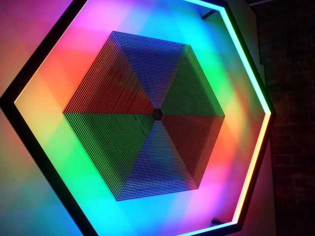 Freq. At Hoxton Gallery: Illuminated Oscillations for Midsummer