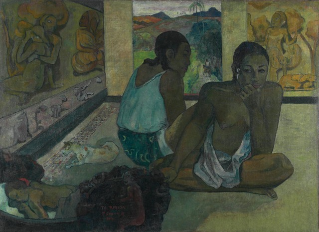 Paul Gauguin (1848-1903) Te Rerioa (The Dream), 1897. © The Courtauld Gallery, London