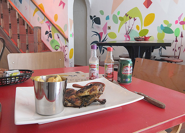 What's For Lunch? Brazilian Chicken At Galeto, Soho