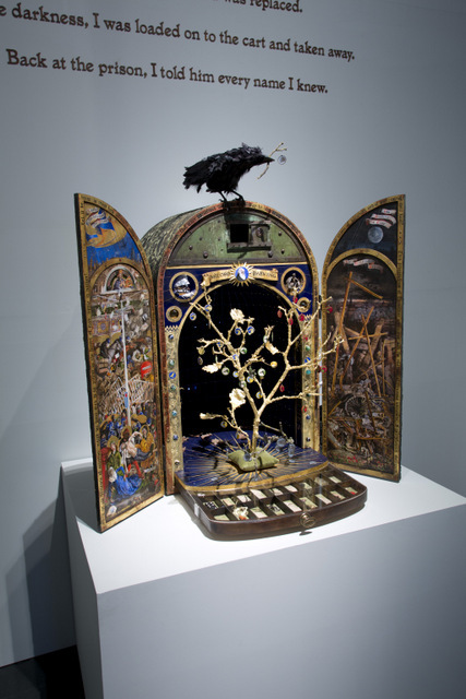 Installation image of Sky Arts Ignition: Memory Palace at the V&A. © Victoria and Albert Museum, London