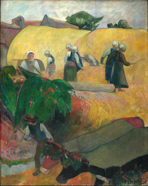 Paul Gauguin (1848-1903) The Haystacks, 1889. © The Courtauld Gallery, London