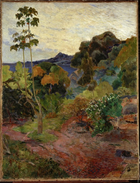 Paul Gauguin (1848-1903) Martinique Landscape, 1887. © Scottish National Gallery, Edinburgh