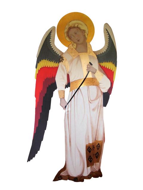 Archangel after Michael Guariento de Arpo, 1338-70. Image courtesy St. Bart's church