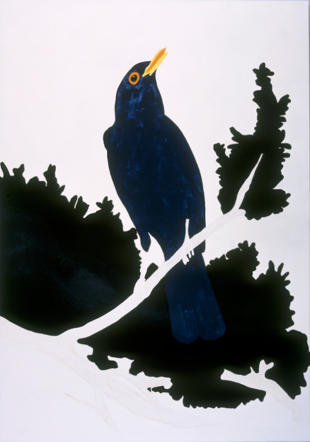 Gary Hume, Blackbird 1998, Private collection, London. Image courtesy Tate.