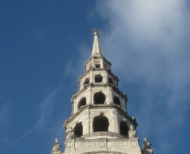 st bride s church london wedding cake st s standing on top of the city s tallest church 20517