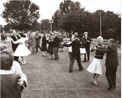Dancing at Brockwell Park, c.1966 by London Metropolitan Archives