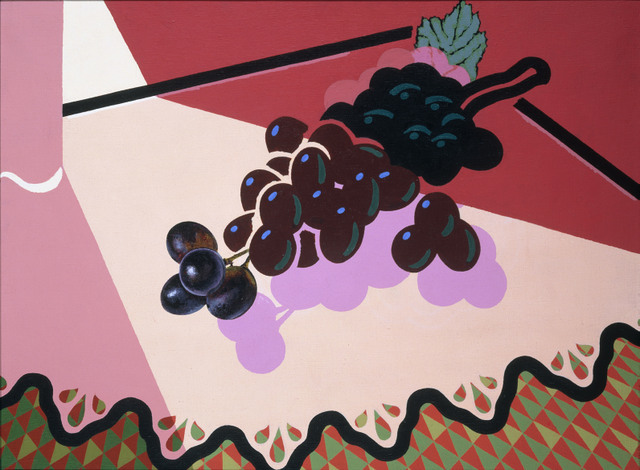 Patrick Caulfield, Selected Grapes 1981, British Council Collection. Image courtesy Tate.