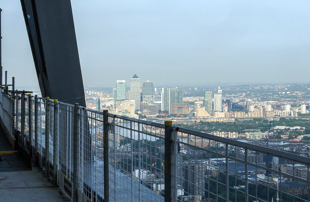 Canary Wharf from the 46th floor