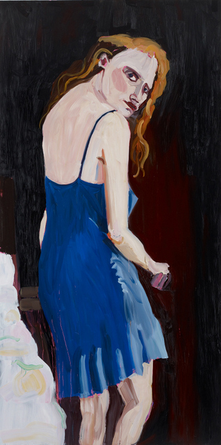 Chantal Joffe Jessica, 2012. Courtesy the Artist and Victoria Miro, London © Chantal Joffe. Photography © Stephen White