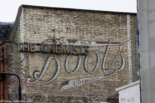 Boots the Chemist. By Tommy Johansson.