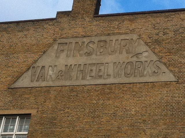 Ghost sign, Clerkenwell. By dakota_boo