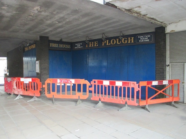 The shuttered Plough.