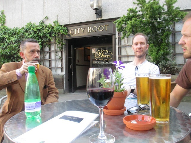 Final stop, and the only open pub on the crawl... the City Boot.