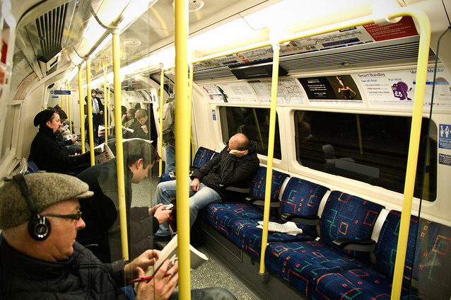 A current Northern line train