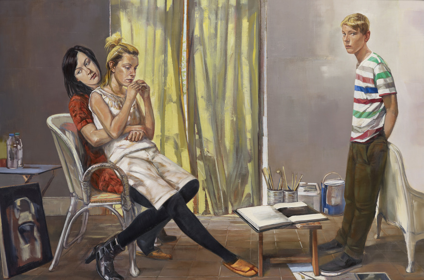 Artists From Around The World Compete For The BP Portrait Award At National Portrait Gallery